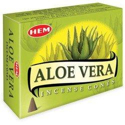 .HEM kadzidła kadzidełka stożkowe 10 szt aloes - Aloe Vera