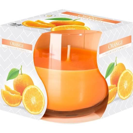 Bispol świeca zapachowa w szkle ~ 24 h - Orange