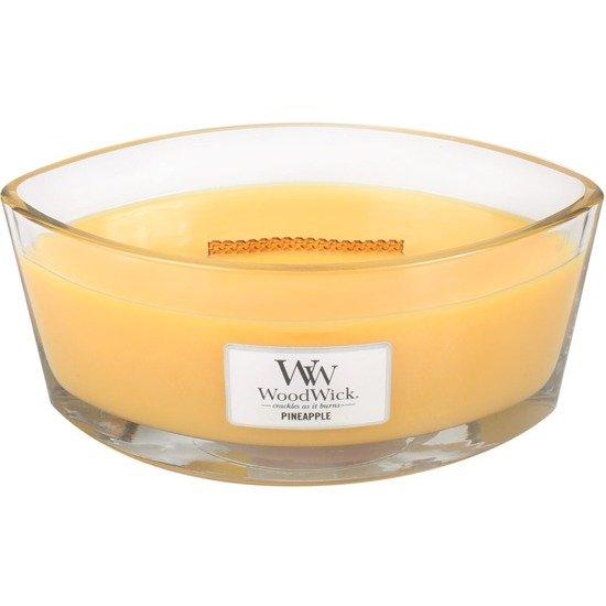 WoodWick Core Heartwick Candle świeca zapachowa sojowa w szkle łódka ~ 60 h - Pineapple