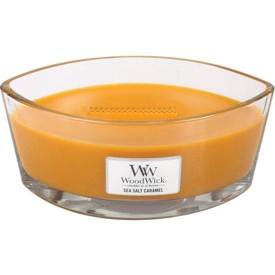 WoodWick Core Heartwick Candle świeca zapachowa sojowa w szkle łódka ~ 60 h - Sea Salt & Caramel