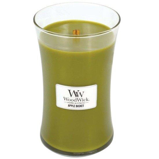 WoodWick Core Large Candle świeca zapachowa sojowa w szkle ~ 175 h - Apple Basket