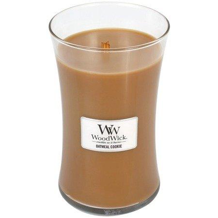 WoodWick Core Large Candle świeca zapachowa sojowa w szkle ~ 175 h - Oatmeal Cookie