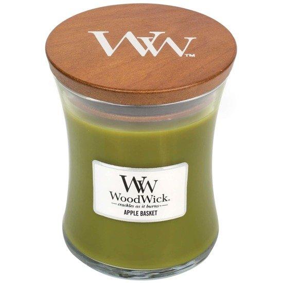 WoodWick Core Medium świeca zapachowa sojowa w szkle ~ 100 h - Apple Basket