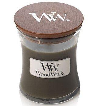 WoodWick Core Small Candle świeca zapachowa w szkle z drewnianą pokrywką ~ 40 h - Frasier Fir