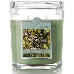 Colonial Candle medium scented oval jar candle 8 oz 226 g - Bayberry